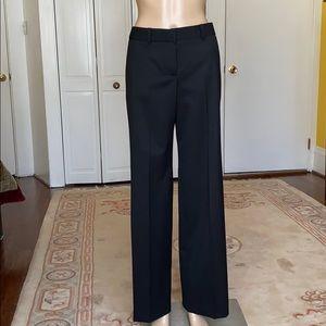 Chloe black wool trouser